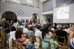 Inauguração Festival de Cinema de Marvão na Alfândega de Valencia de Alcántara. Espanha-Portugal